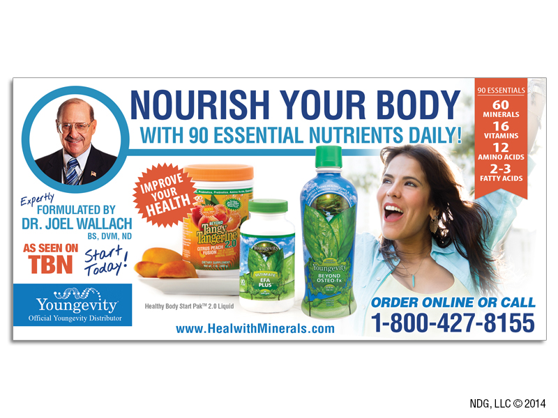 Heal with Minerals Flyer